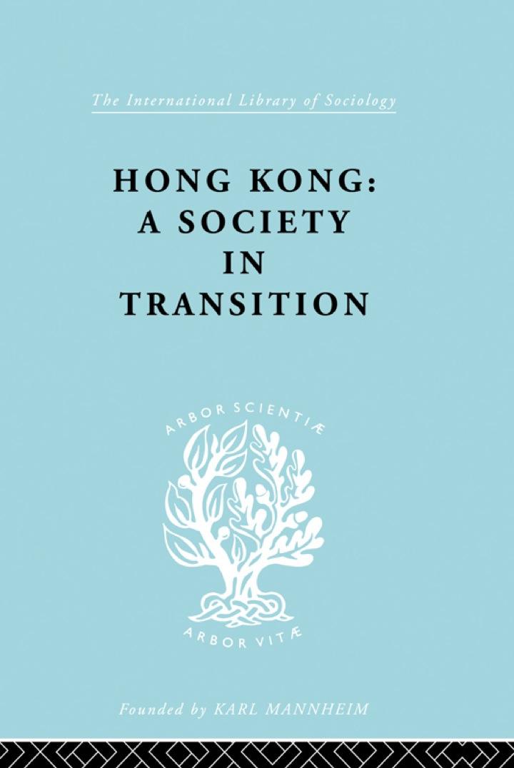 Hong Kong:Soc Transtn   Ils 55