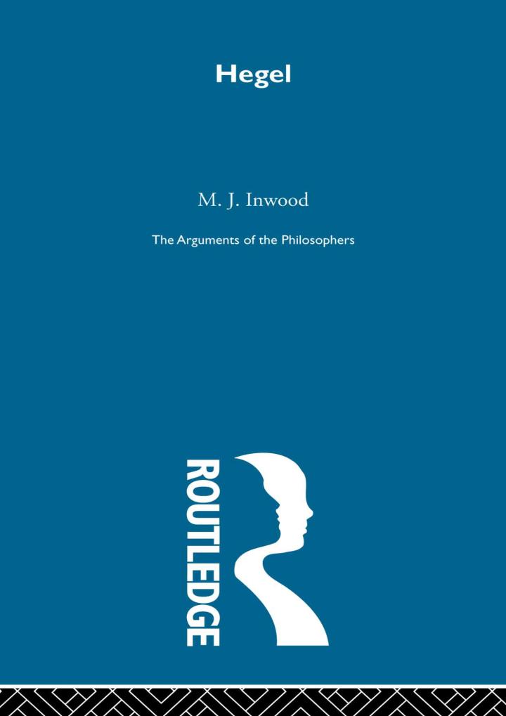 Hegel-Arg Philosophers