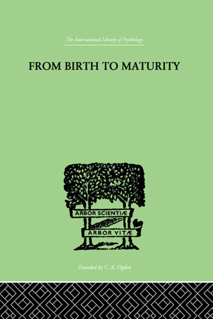 From Birth to Maturity