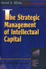 """The Strategic Management of Intellectual Capital"" (9781136355936)"