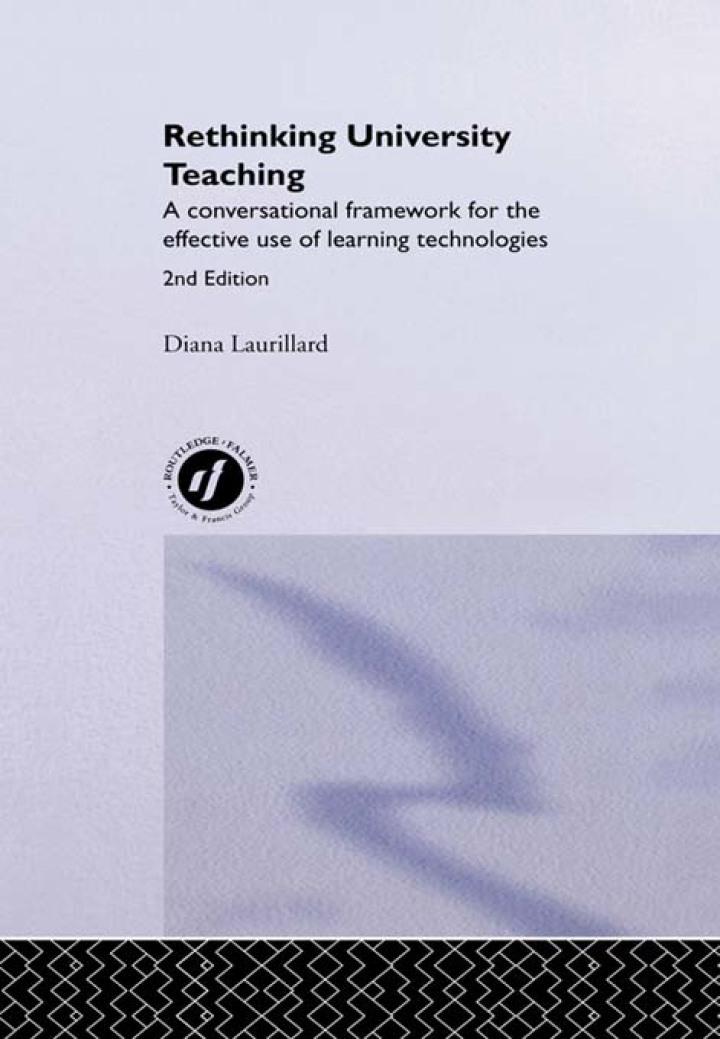 Rethinking University Teaching