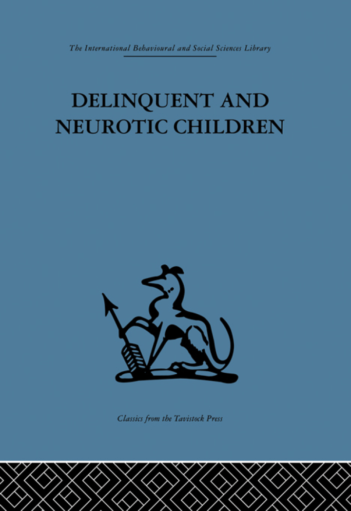 Delinquent and Neurotic Children