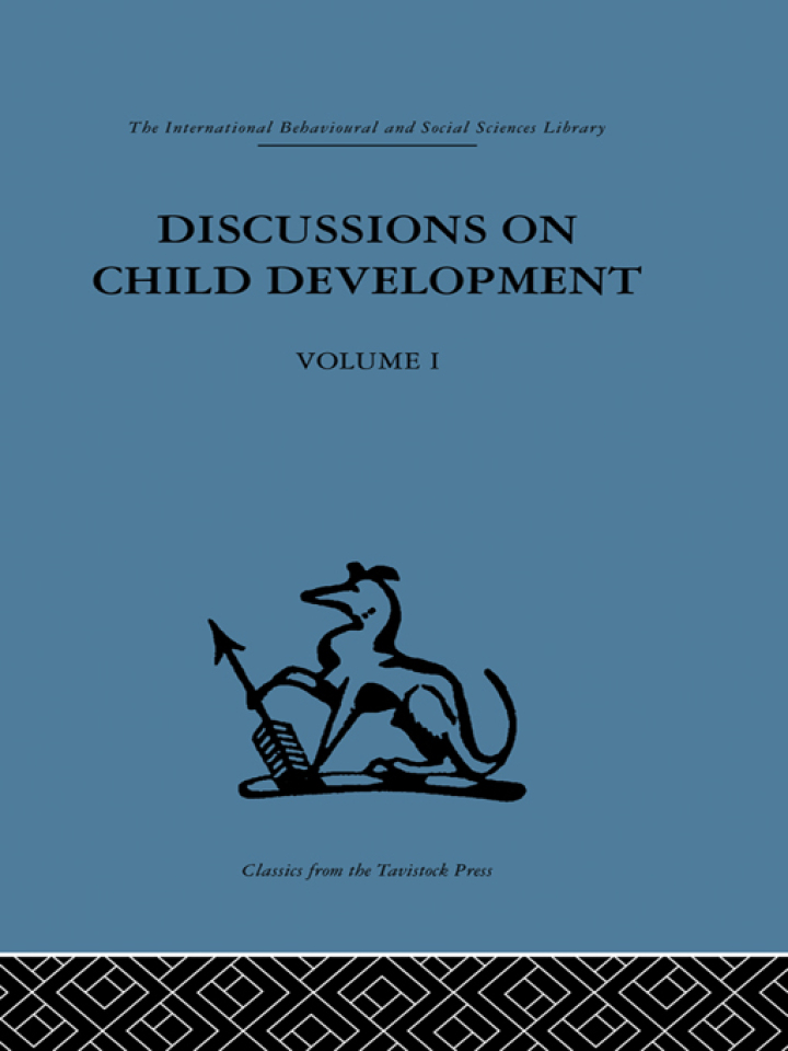 Discussions on Child Development