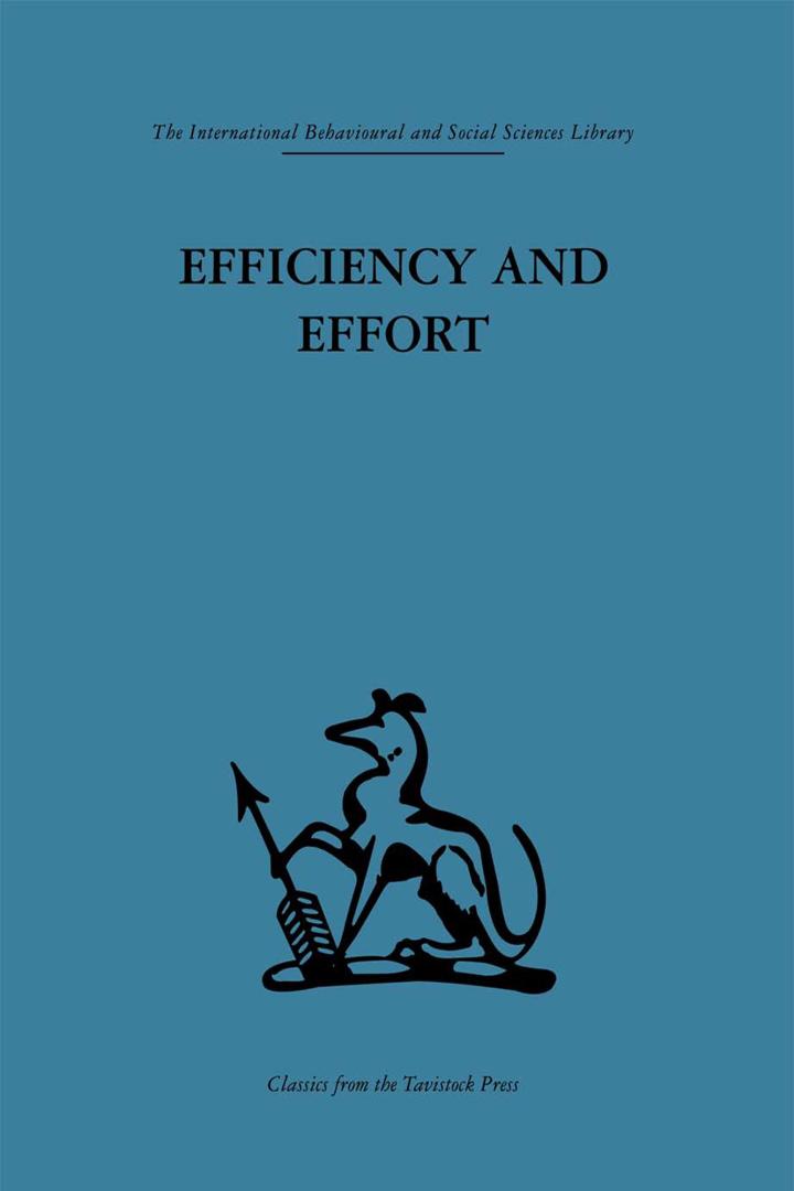 Efficiency and Effort