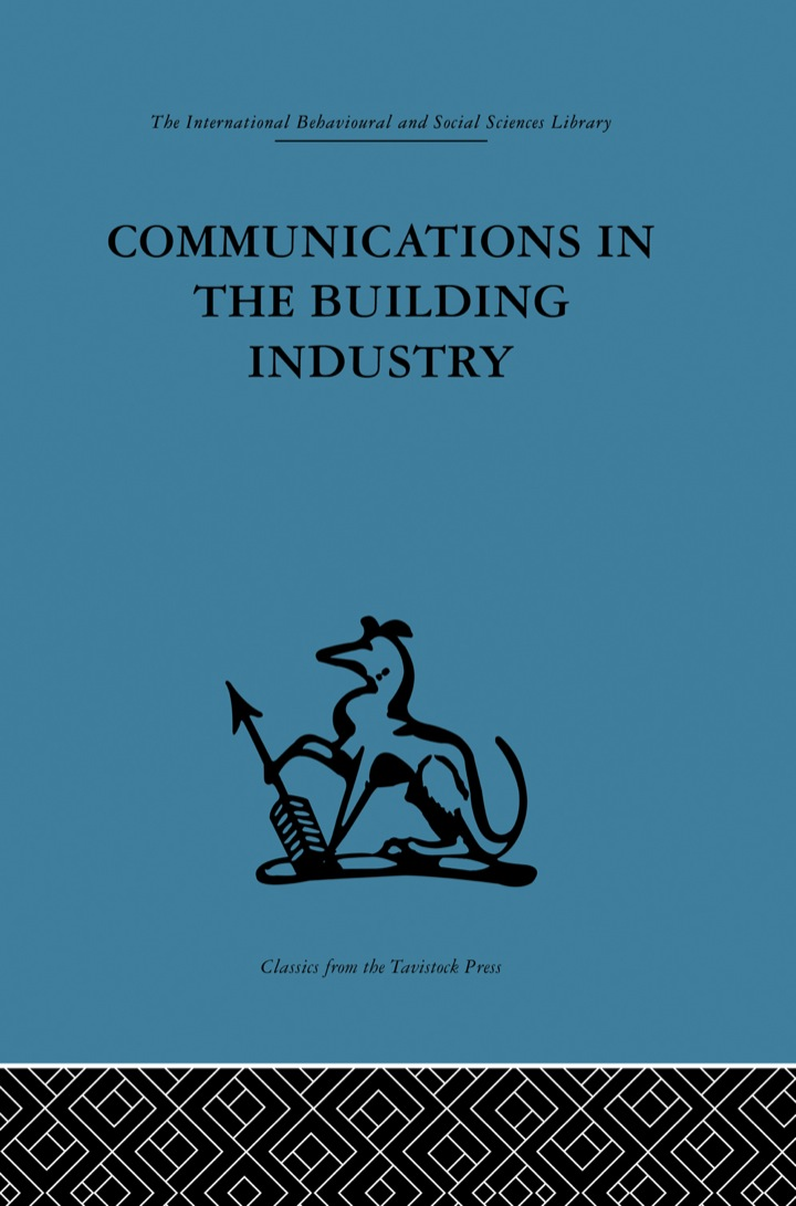 Communications in the Building Industry
