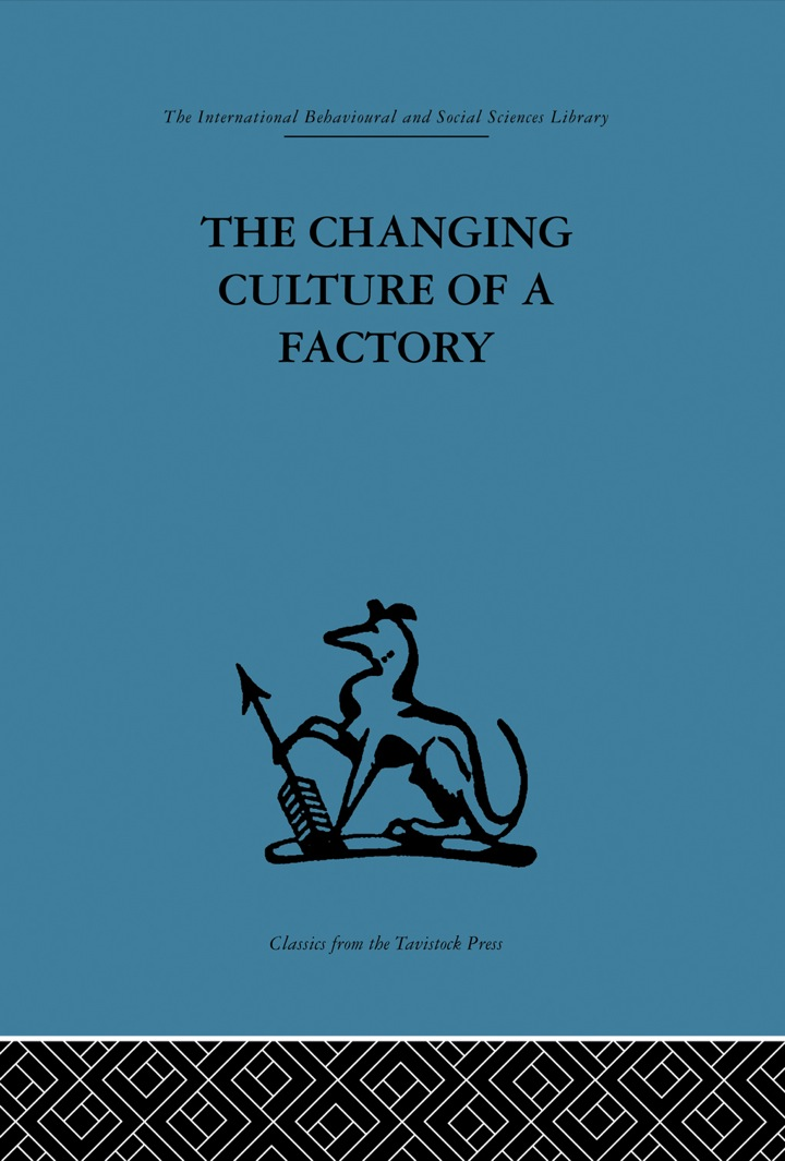The Changing Culture of a Factory