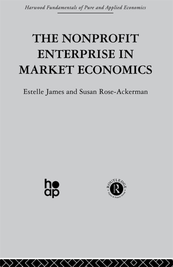 The Non-profit Enterprise in Market Economics