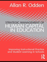 """Strategic Management of Human Capital in Education"" (9781136858253)"