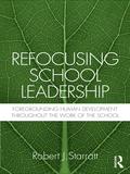 Refocusing School Leadership 9781136916403R90