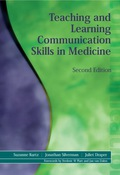 Teaching and Learning Communication Skills in Medicine, Second Edition 9781138030237R90