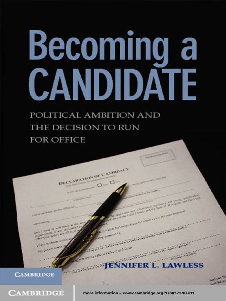Becoming a Candidate