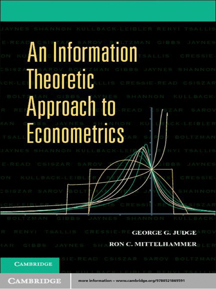 An Information Theoretic Approach to Econometrics