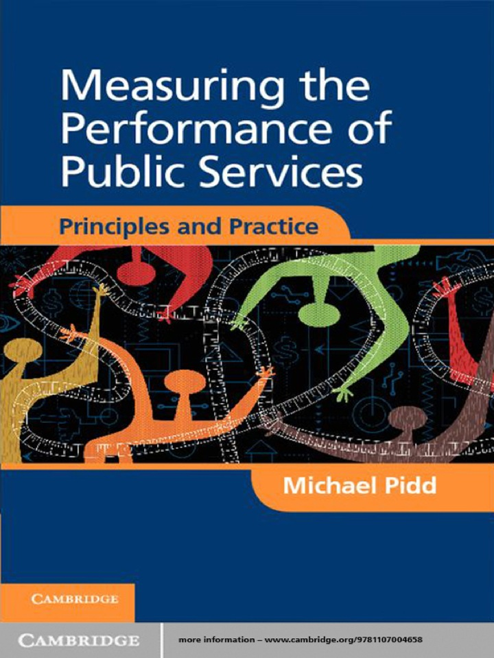 Measuring the Performance of Public Services