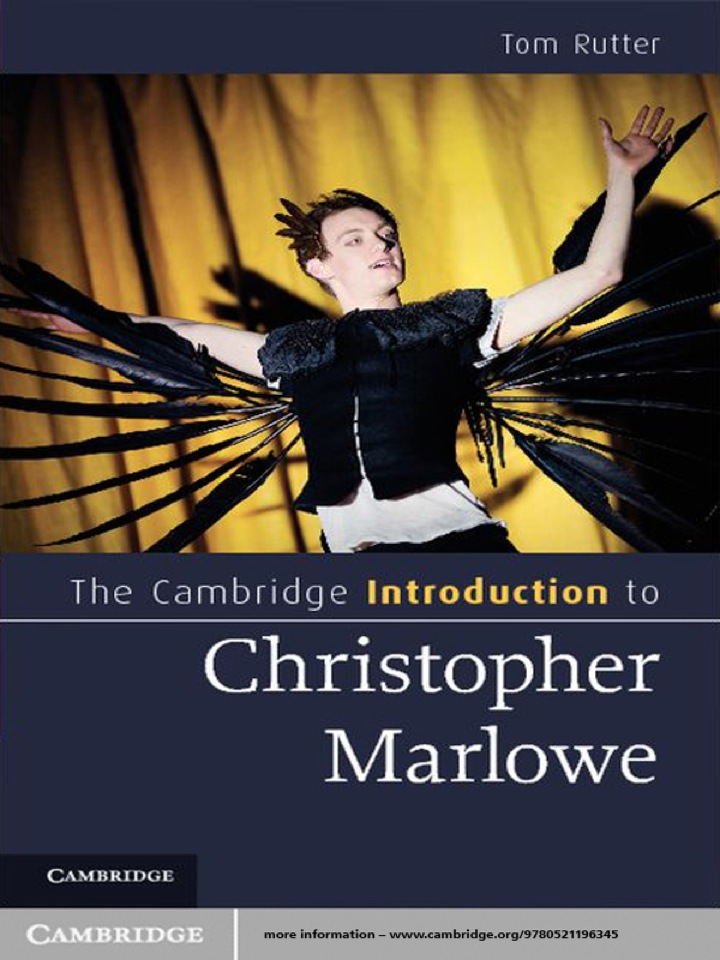 The Cambridge Introduction to Christopher Marlowe