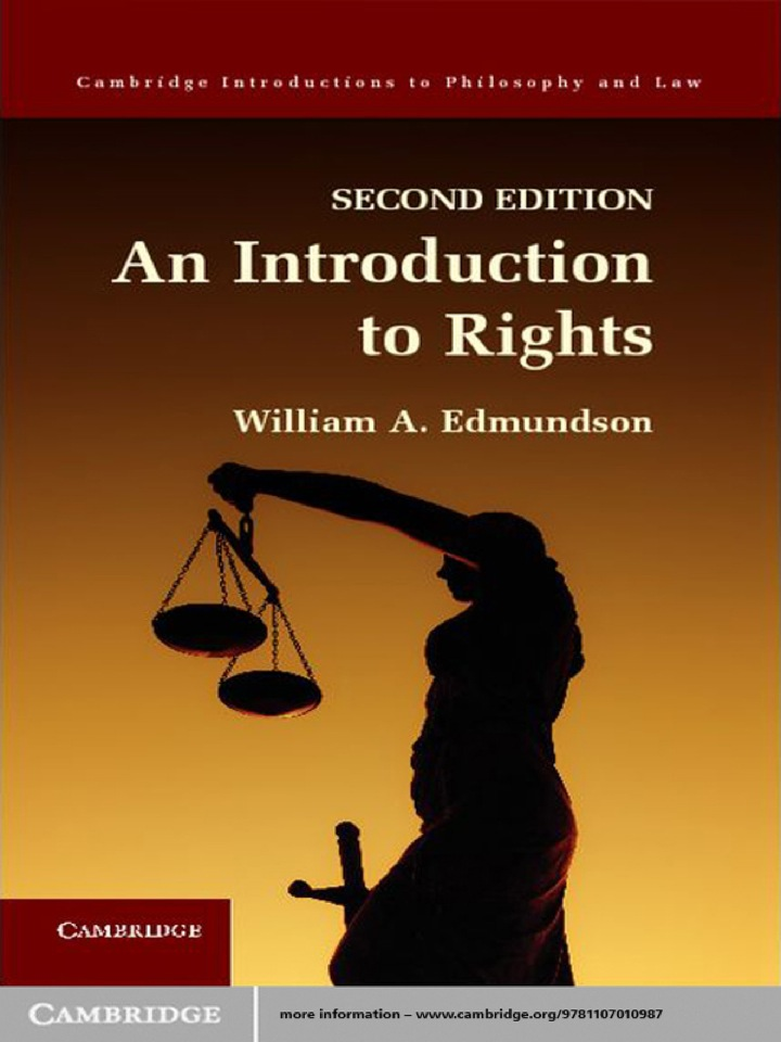 An Introduction to Rights