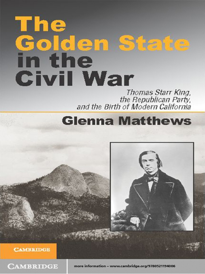 The Golden State in the Civil War