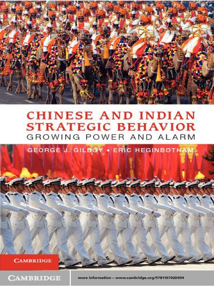 Chinese and Indian Strategic Behavior