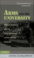 Arms and the University 9781139334587