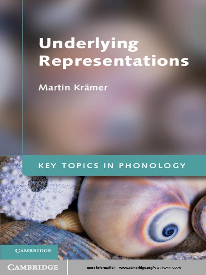Underlying Representations