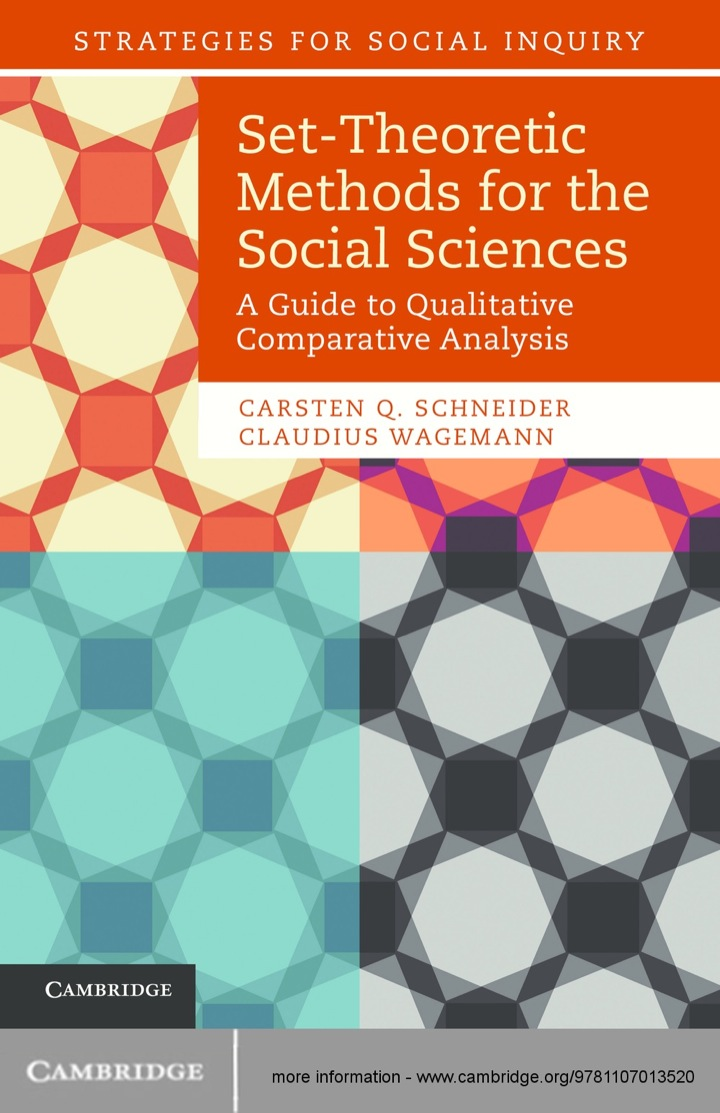 Set-Theoretic Methods for the Social Sciences