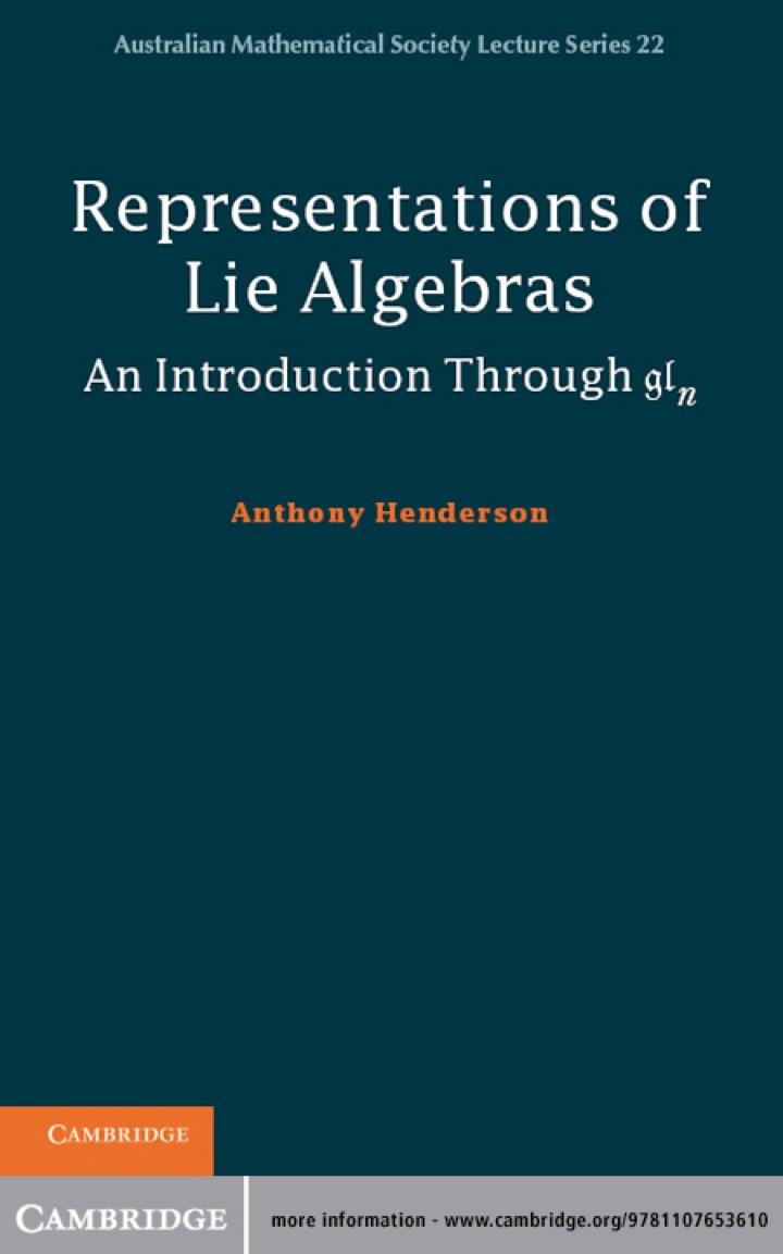 Representations of Lie Algebras