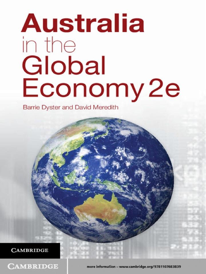 Australia in the Global Economy
