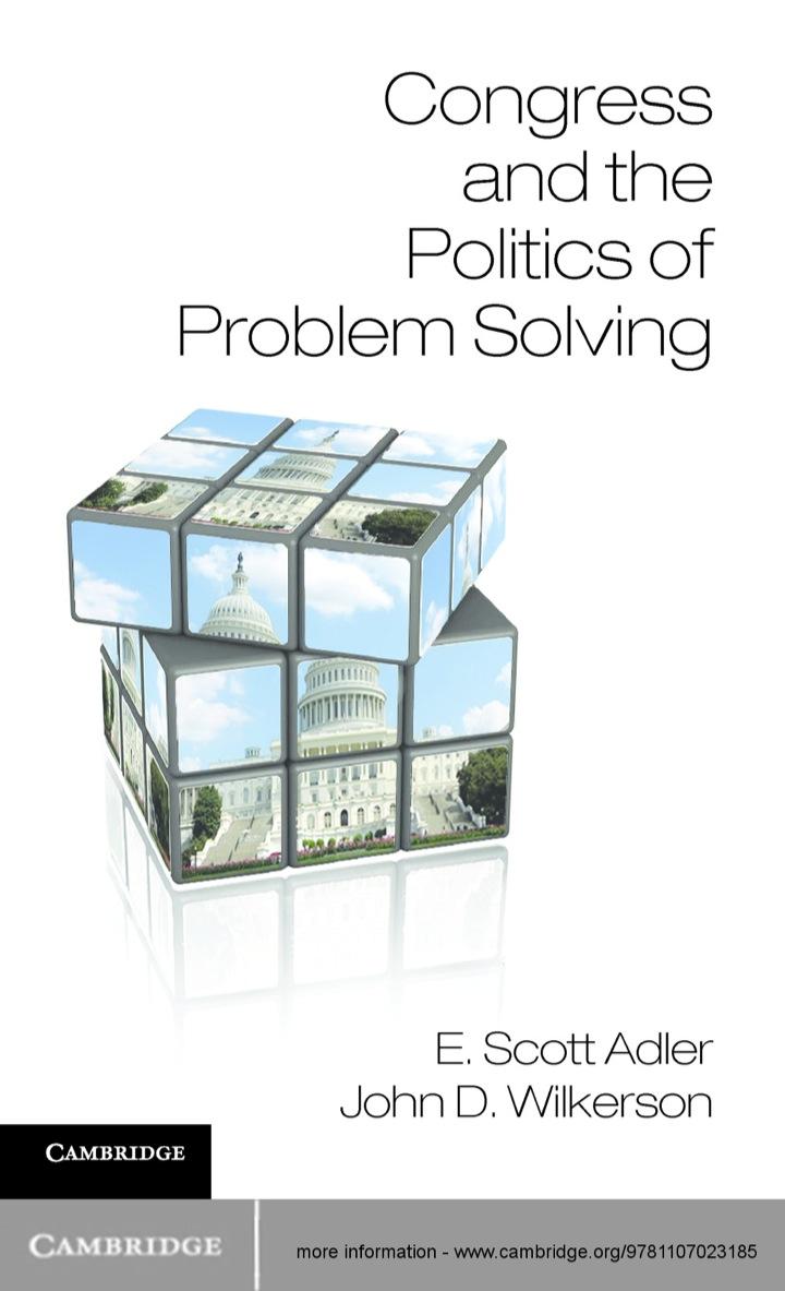 Congress and the Politics of Problem Solving