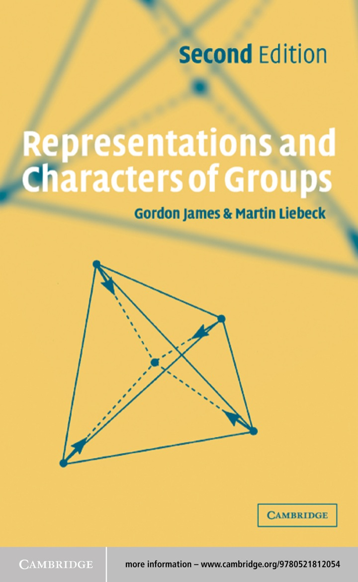 Representations and Characters of Groups