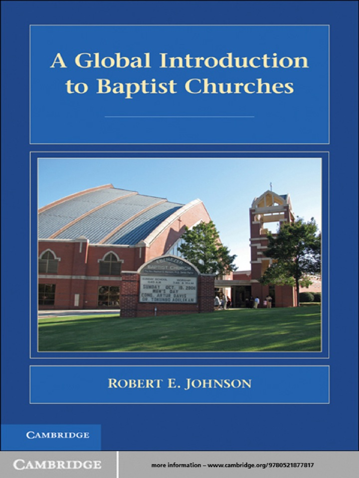 A Global Introduction to Baptist Churches