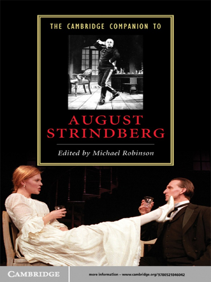 The Cambridge Companion to August Strindberg