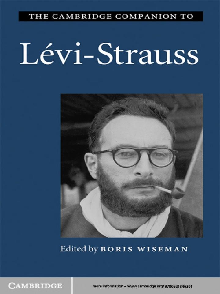 The Cambridge Companion to Lévi-Strauss