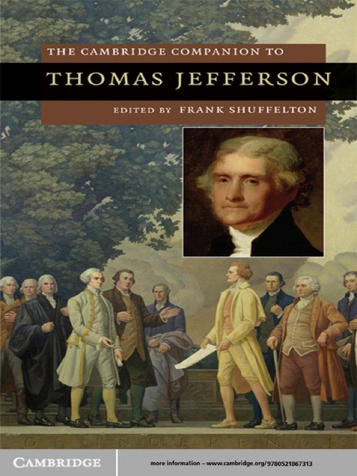 The Cambridge Companion to Thomas Jefferson