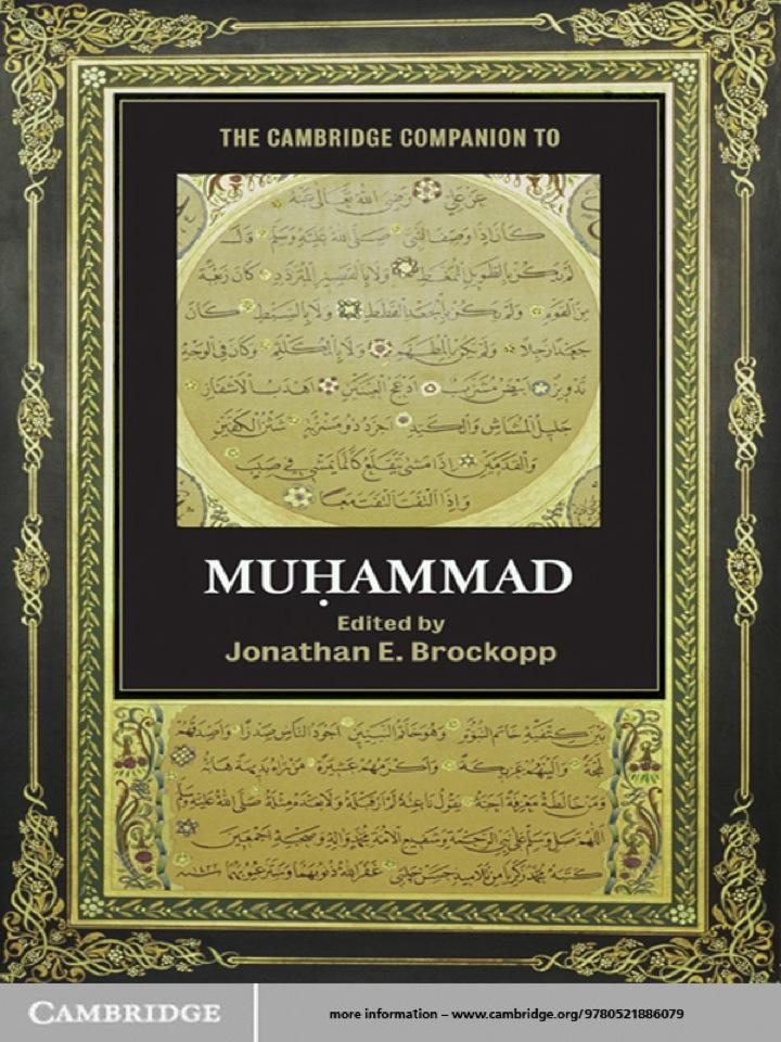 The Cambridge Companion to Muhammad