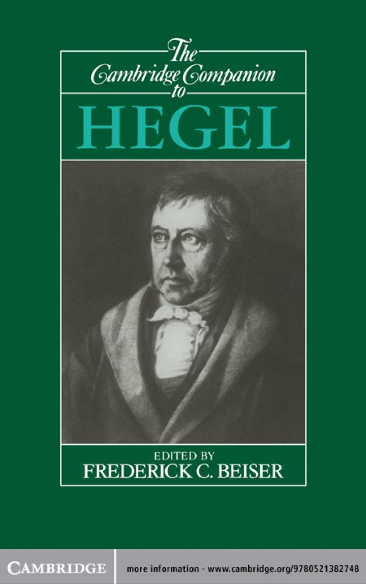 The Cambridge Companion to Hegel