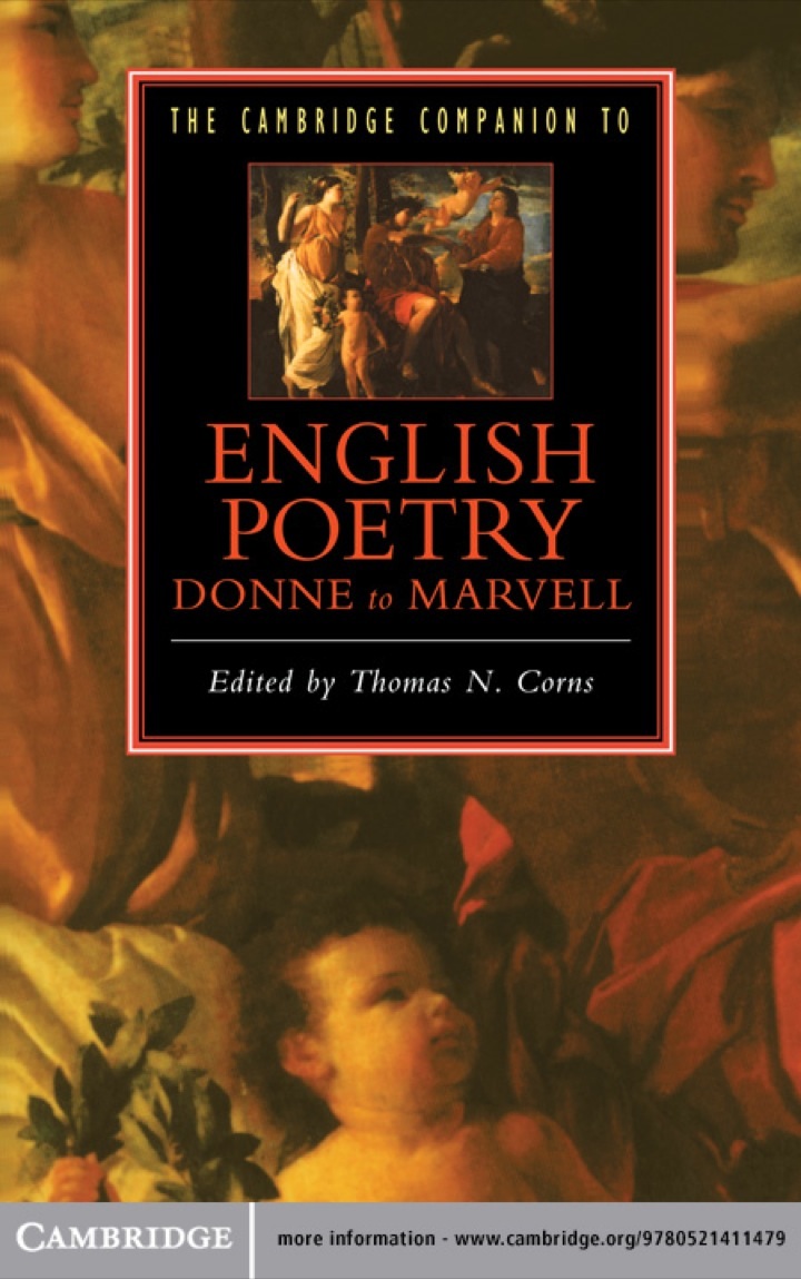 The Cambridge Companion to English Poetry, Donne to Marvell