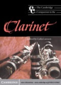 The Cambridge Companion to the Clarinet 9781139815390