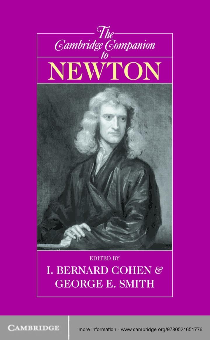 The Cambridge Companion to Newton