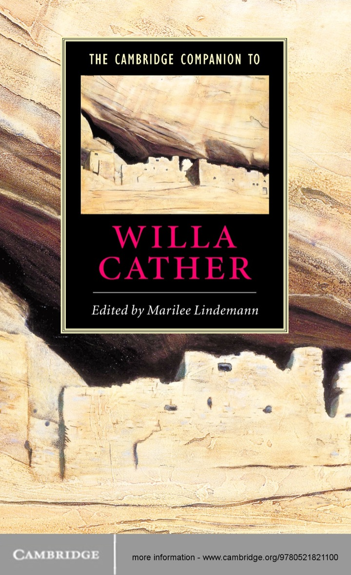 The Cambridge Companion to Willa Cather