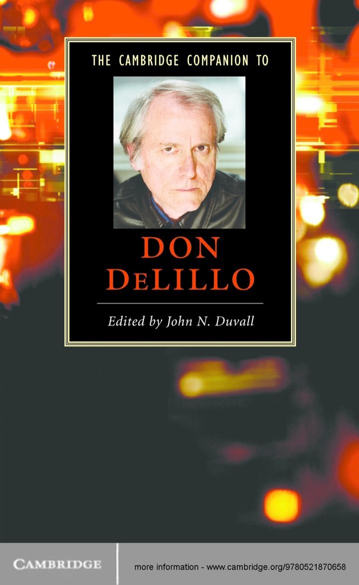 The Cambridge Companion to Don DeLillo