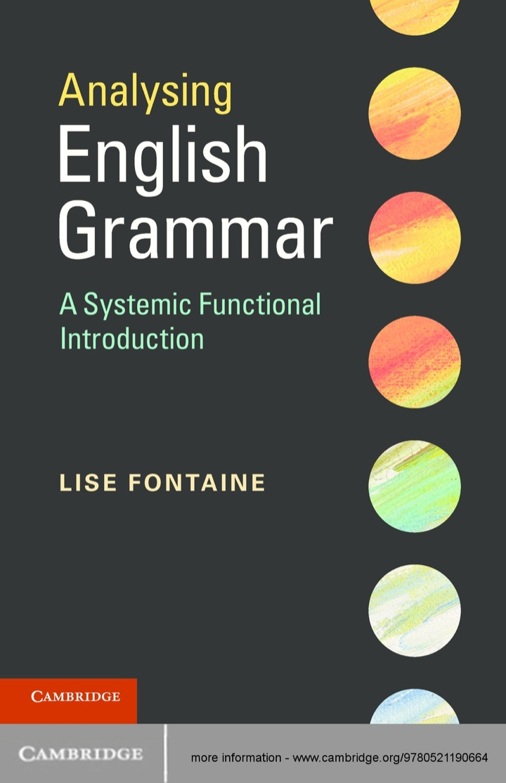 Analysing English Grammar
