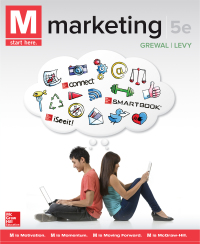 M marketing 5th edition 9781259446290 vitalsource m marketing fandeluxe Images