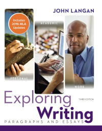 The writer's world paragraphs and essays 3rd edition