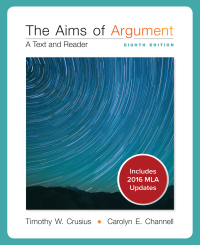 Aims of argument: text and reader w/ connect composition.