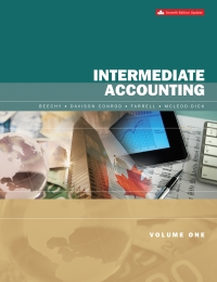 Intermediate Accounting Volume 1, 7th Updated Canadian Edition [Thomas Beechy]
