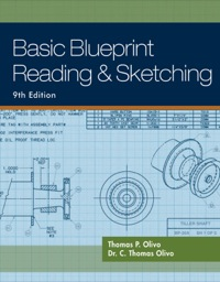 Drafting mechanical drawing textbooks in etextbook format basic blueprint reading and sketching malvernweather Choice Image