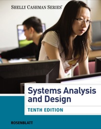 Systems Analysis And Design 10th Edition 9781285633190 9781285633190 Vitalsource