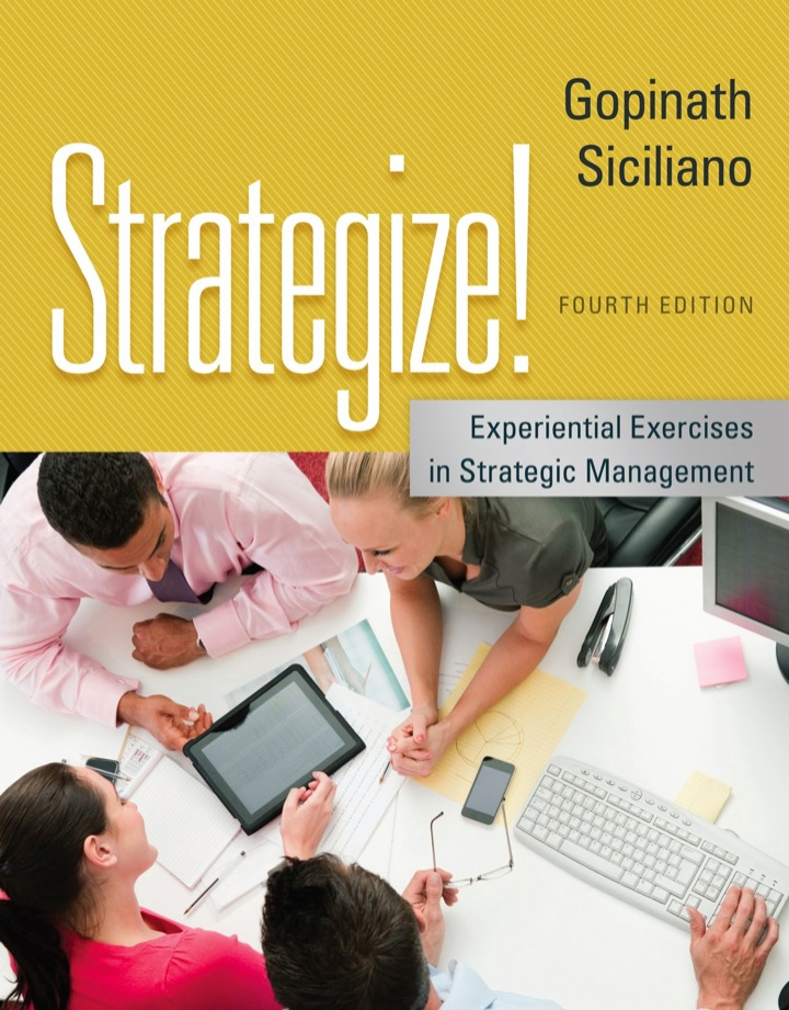 Strategize!: Experiential Exercises in Strategic Management