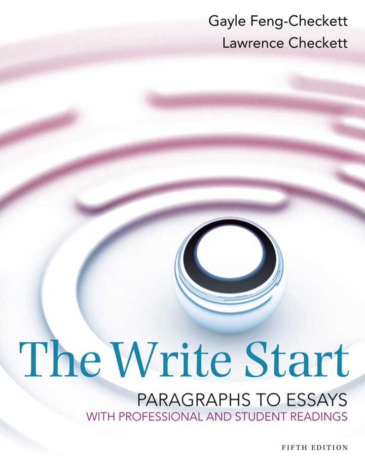 The Write Start, Paragraph to Essay: With Student and Professional Readings