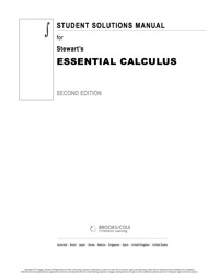 Student solutions manual for stewarts essential calculus 2nd 2nd student solutions manual for stewarts essential calculus 2nd fandeluxe Image collections