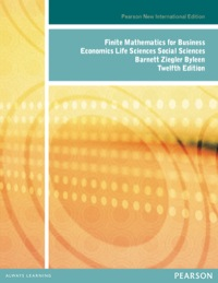 finite mathematics with applications 10th edition lial hungerford holcomb